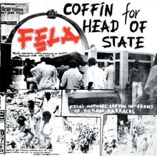 Fela Kuti - coffin for head of state (1981)