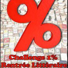 Challenge 1% rentrée littéraire 2011