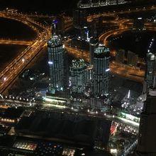 Dubai at Night - View from the Burj Khalifa