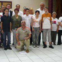 Remise des prix de l'action Solferino par la Croix rouge Française