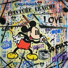 Mickey painter 100X100
