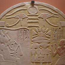 Le prêtre Pentchény adore le dieu Osiris