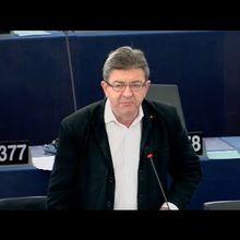 Mélenchon : l'Europe actuelle c'est la violence sociale et politique, soit on la change soit on la quitte (et comme on la changera pas ...)