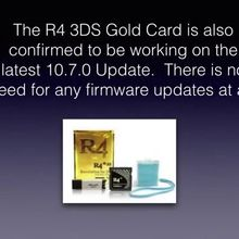 The R4 3DS 10.7.0 Update is released!