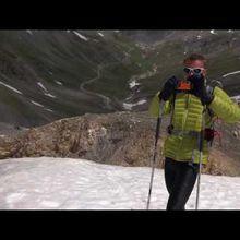 ski d'été en vidéo
