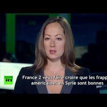 Sur France 2, des images des frappes aériennes russes pour vanter les succès américains en Syrie