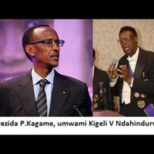 Bwa mbere n'ubwa nyuma Paul Kagame yisobanura k'Umwami Kigeli V Ndahindurwa!