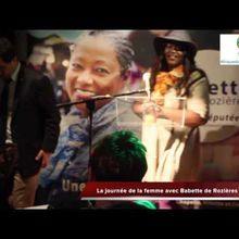"""Journée Internationale des Droits des Femmes : Une femme """"Potomitan"""", Babette de Rozières , candidate aux élections législatives de 2017"""