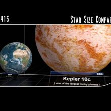 taille des etoiles et de l univers