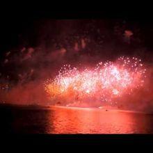 Fireworks - Qatar National Day 18 Dec 2014