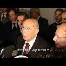 Napolitano ci dice qual'è il modo per fare rientrare i marò in Italia.