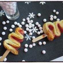 Mini sapins de Noël apéritifs