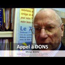 Chretiens Appel à votre Generosite Appel à Dons - Sauvez Eglise de Vierzon - Confrerie Saint Eloi
