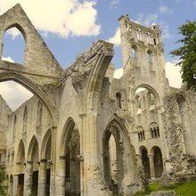 Abbayes de Jumièges, Jumièges ( Seine-Maritime 76 ) AAAA Vidéo