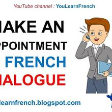 Prendre rendez-vous/ Make an appointment