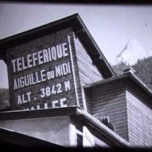 Histoire du téléphérique de l'Aiguille du Midi