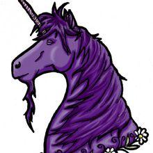 La licorne violette