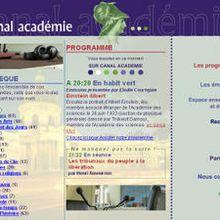 Découverte: Canal Académie