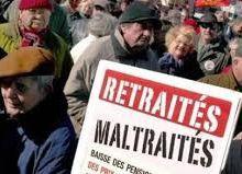 Les retraités corvéables jusqu'à 67 ans, taillables à vie ? NON !