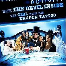 Critique Ciné : 30 Nights of Paranormal Activity with the Devil Inside the Girl With the Dragon Tattoo