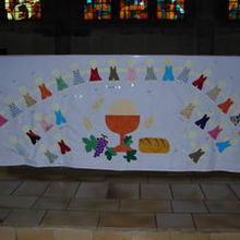 nappe de communion