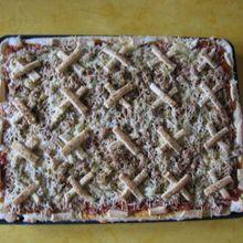 Pizza ...aux petites croix !