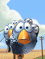 """For the birds"" de Pixar"