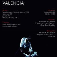 Léo Tamaki in Valencia; 14, 15 y 16 de octubre