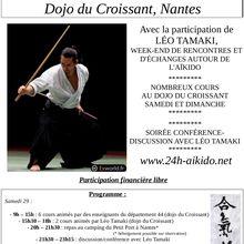 24 heures d'Aïkido à Nantes, 29 et 30 septembre