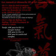 Léo Tamaki à Liège, 2 au 4 novembre