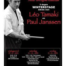 Léo Tamaki à Amsterdam et Rotterdam, 13 au 15 décembre