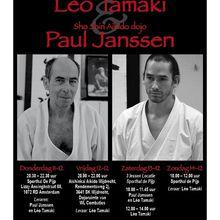 Léo Tamaki à Amsterdam, 11 au 14 décembre
