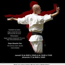 Master Class Hino Akira 16 et 17 mai