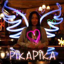 Light Painting à Tokyo par Pika Pika