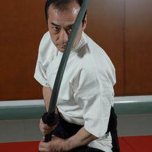 Kuroda senseï à la Nuit des Arts Martiaux Traditionnels