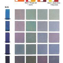 DES GRIS et mélange de couleurs