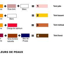 COULEURS de PEAUX