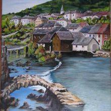 LODS, village du Doubs sur la Loue