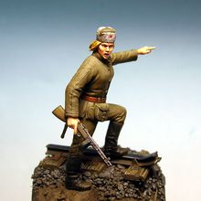 Soldat russe 1/35 - sculpture Benoit Cauchies