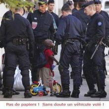 la police les sans papiers