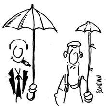 parapluies sociaux