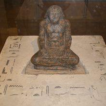 Traduction hiéroglyphes : Statue de Setka