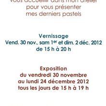 Invitation pour l'exposition de Jean-Paul Furrasola à Montner