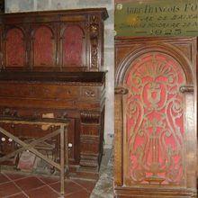 L'orgue de l'église paroissiale Sainte-Marie de Baixas