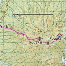 Une double traversée naturiste du Mont Pouakai