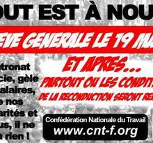 Grève générale reconductible !