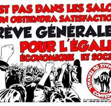Grève générale illimitée ou… deux journées ?