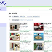 Lively : l'alternative à Second Life selon Google