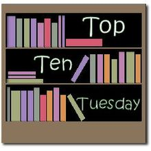 Top Ten Tuesday - Résolutions... de livres de de blog