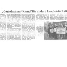 CZ 29.6.12 -- Bauern aus Kenia, USA, Deutschland für menschlichere Landwirtschaft